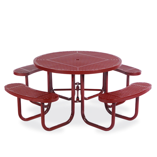 46 inch Round Picnic Table – Signature Series – Portable