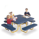 Children's Square 46 inch Portable Picnic Table - Signature Series