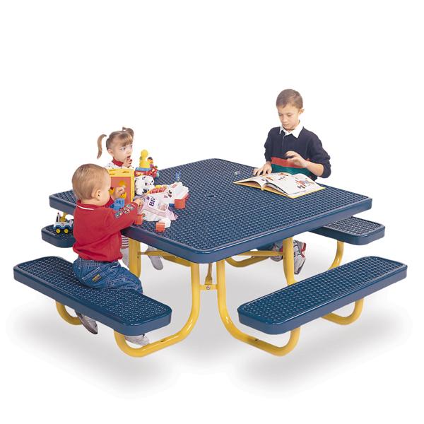 Children's Square 46 inch Portable Picnic Table – Signature Series