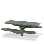 Picnic Table - Single Pedestal - Signature Series - Inground