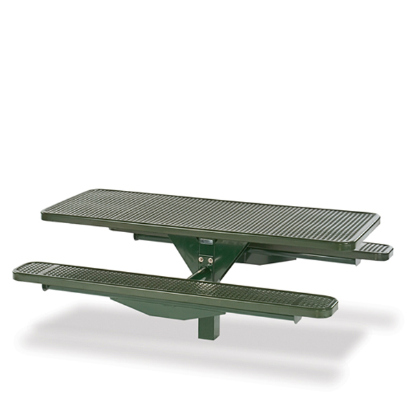 Picnic Table – Single Pedestal – Signature Series – Inground