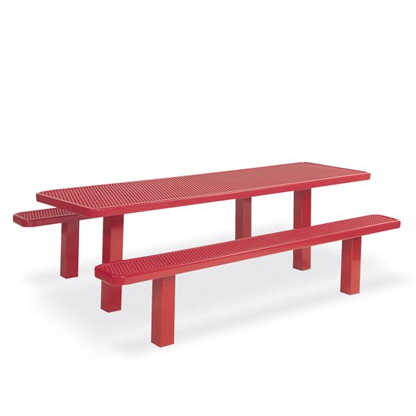 Picnic Table – Multi-Pedestal – Signature Series – Inground