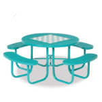 Game Tables - 46 inch Round Signature Style - Specialty Series - Portable