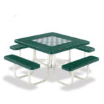 Game Tables - 46 inch Square Signature Style - Specialty Series - Portable