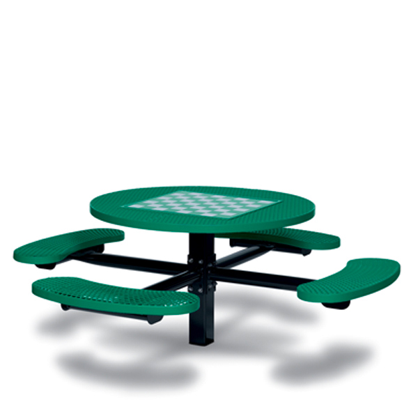 Game Tables – 46 inch Round Signature Style – 4 Seats – Basic Frame – Specialty Series – Inground
