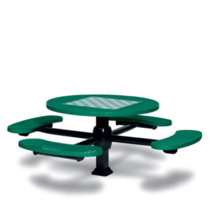 Game Tables - 46 inch Round Signature Style - 4 Seats - Superior Frame - Specialty Series - Inground