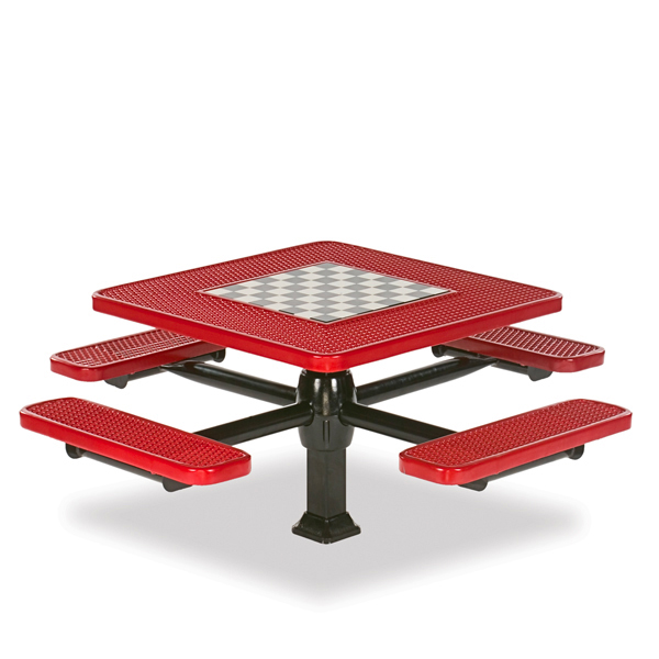 Game Tables – 46 inch Square Signature Style – 4 Seats – Superior Frame – Specialty Series – Inground