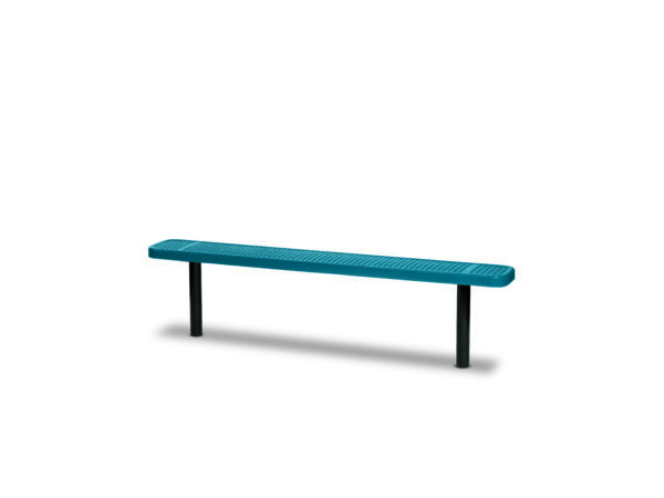"6 foot and 8 foot Outdoor Benches without back - 10"" Wide Seats - Signature Series"