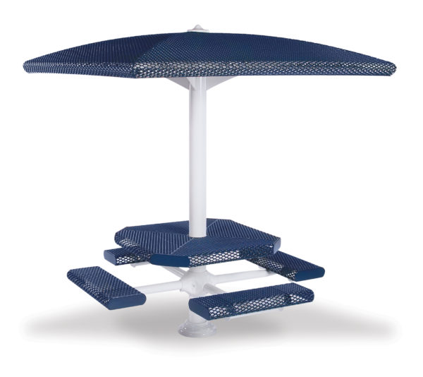 46 inch Square Shelter/Table Combo - Shadeland Series
