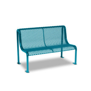 4' and 6' Outdoor Benches without Arms - Uptown Series