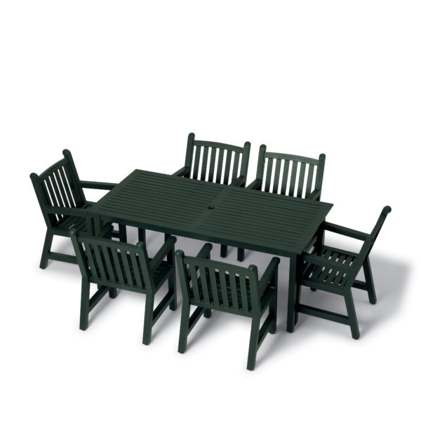 36 inch x 72 inch Rectangular Table - Outdoor Table Only - Yorktown Collection - Portable/Surface Mount