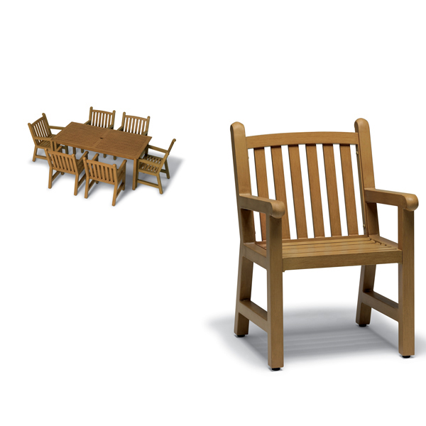 Outdoor Chair Only – Arm Chair – Yorktown Collection