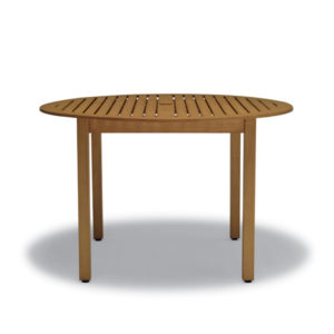 "48"" Round Table - Outdoor Table Only - Yorktown Collection - Portable/Surface Mount"