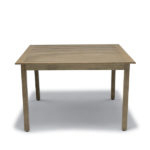 Light brown commercial outdoor table Yorktown Collection