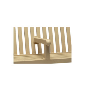 Outdoor Bench Center Armrest - Yorktown Collection