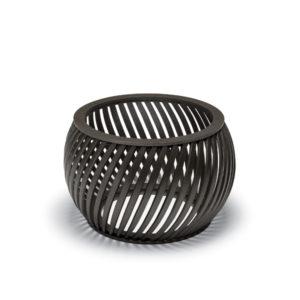 """Elegance - """"A"""" Style Spiral Slat Planter w/Liner"""