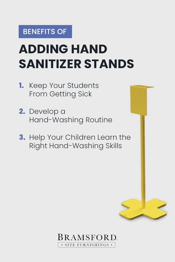 Benefits of adding hand sanitizer stands