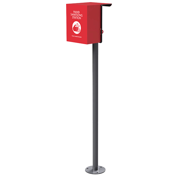 Hand sanitizing station – with Cover