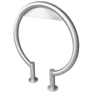 Stainless Steel Circular Bike Rack