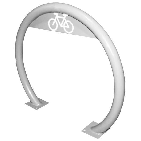 Stainless Steel Open Circular Bike Rack
