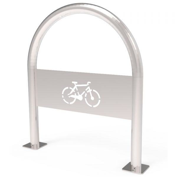 Stainless Steel Inverted U Bike Rack