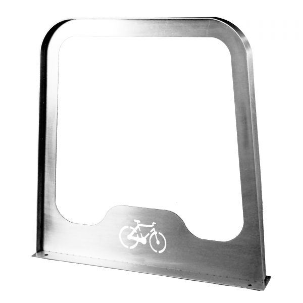 Stainless Steel Designer Bike Rack
